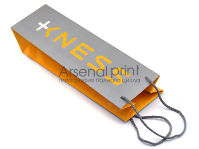 Печать картонных пакетов
