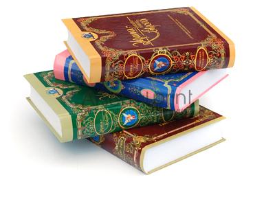 Печать книг в твердом переплете (7БЦ)