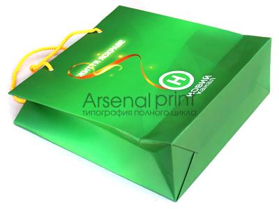 Ламинированные бумажные пакеты
