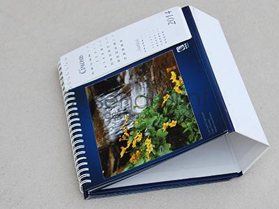 """Печать настольных календарей """"домик"""""""