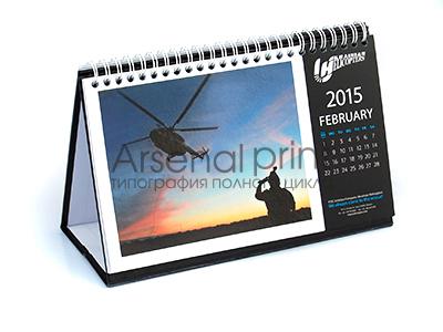 Печать календарей, настольные перекидные