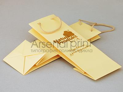Печать бумажных пакетов